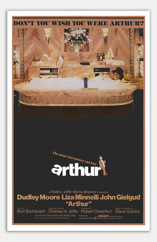 "Arthur - 11"" x 17""  Movie Poster"
