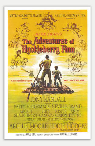 "Adventures of Huckleberry Finn - 11"" x 17""  Movie Poster"