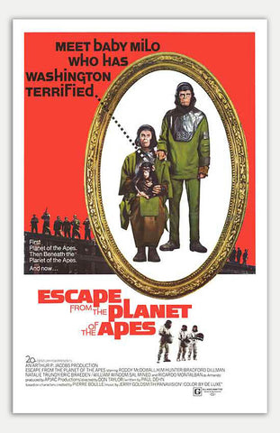 "Escape From The Planet Of The Apes - 11"" x 17""  Movie Poster"