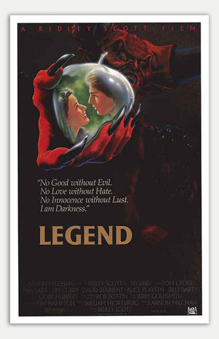 "Legend - 11"" x 17""  Movie Poster"