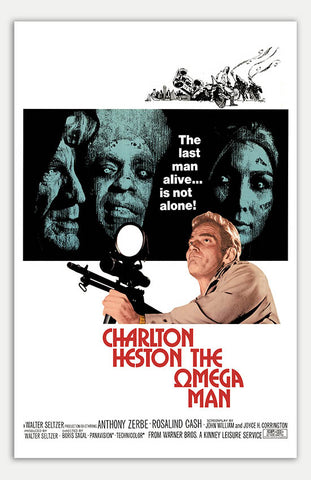 "Omega Man - 11"" x 17""  Movie Poster"