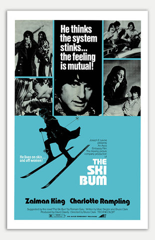"Ski Bum - 11"" x 17""  Movie Poster"