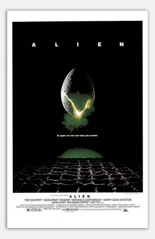 "Alien - 11"" x 17""  Movie Poster"