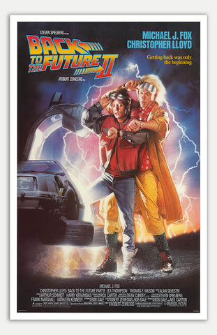 "Back To The Future 2 - 11"" x 17""  Movie Poster"