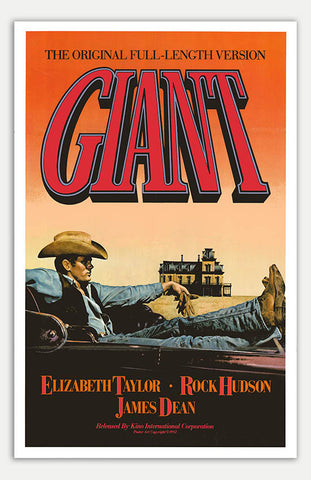 "Giant - 11"" x 17""  Movie Poster"