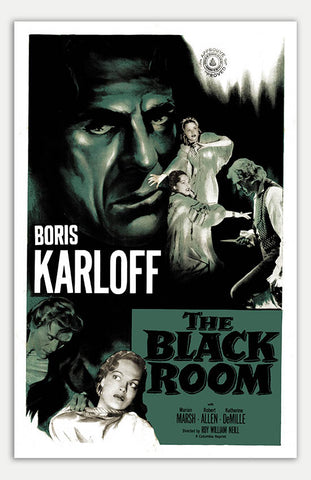 "Black Room - 11"" x 17""  Movie Poster"