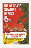 "20 Million Miles to earth - 11"" x 17""  Movie Poster"