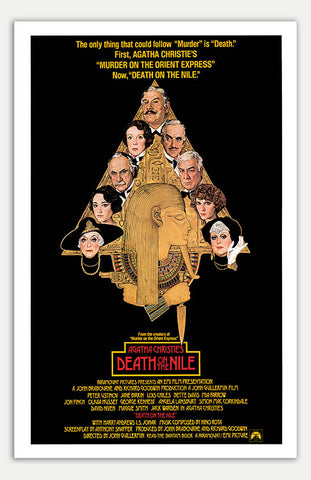 "Death On The Nile - 11"" x 17""  Movie Poster"