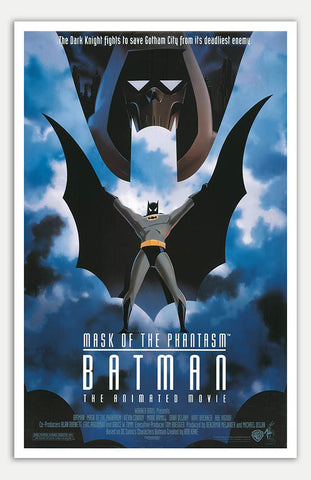 "Batman: Mask Of The Phantasm - 11"" x 17""  Movie Poster"