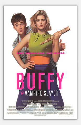 "Buffy The Vampire Slayer - 11"" x 17""  Movie Poster"