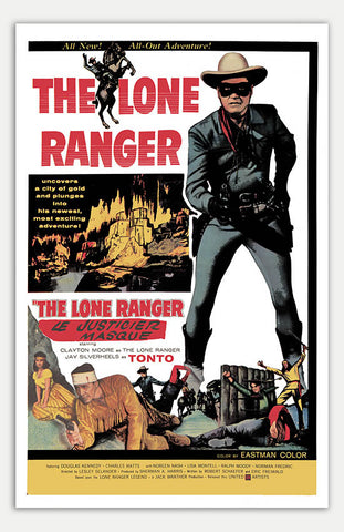 "Lone Ranger - 11"" x 17""  Movie Poster"
