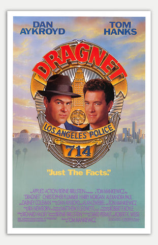 "Dragnet - 11"" x 17""  Movie Poster"