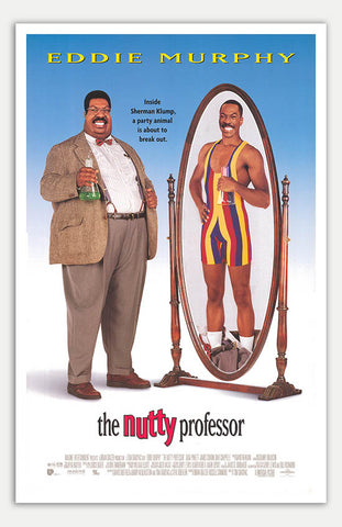 "Nutty Professor - 11"" x 17""  Movie Poster"