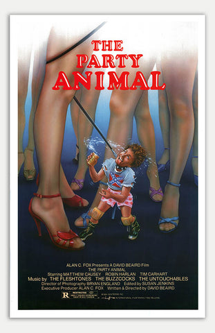 "Party Animal - 11"" x 17""  Movie Poster"