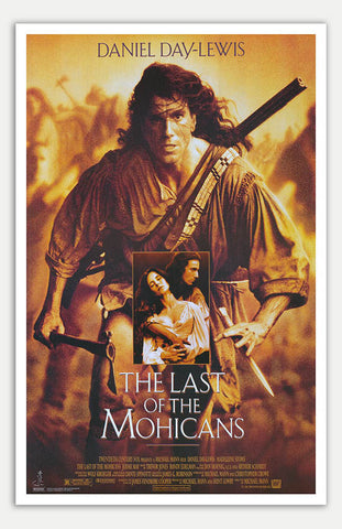 "Last of the Mohicans - 11"" x 17""  Movie Poster"