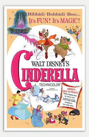 "Cinderella - 11"" x 17""  Movie Poster"