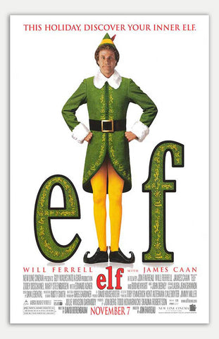 "Elf - 11"" x 17""  Movie Poster"