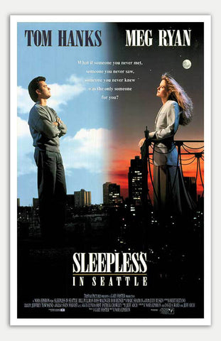 "Sleepless in Seattle - 11"" x 17""  Movie Poster"