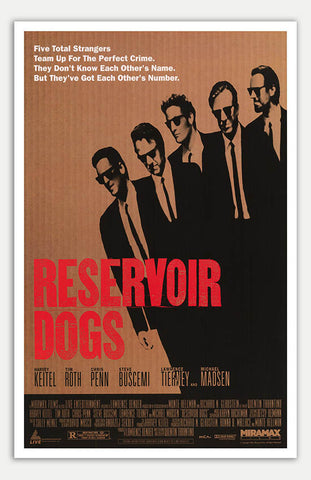 "Reservoir Dogs - 11"" x 17""  Movie Poster"