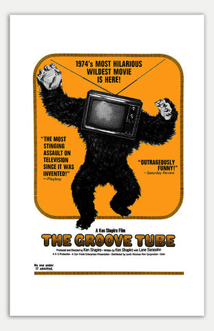 "Groove Tube - 11"" x 17""  Movie Poster"