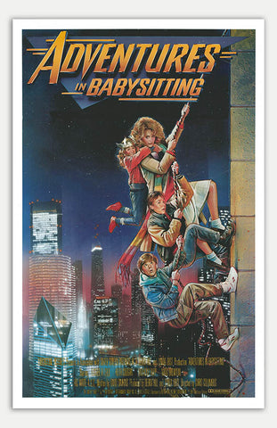 "Adventures in Babysitting - 11"" x 17""  Movie Poster"