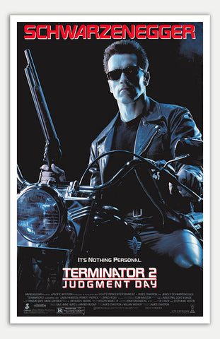 "Terminator 2: Judgment Day - 11"" x 17""  Movie Poster"