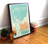 "New York Travel Poster - 11"" x 17"" Poster"