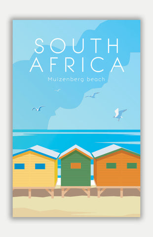"South Africa Travel Poster - 11"" x 17"" Poster"