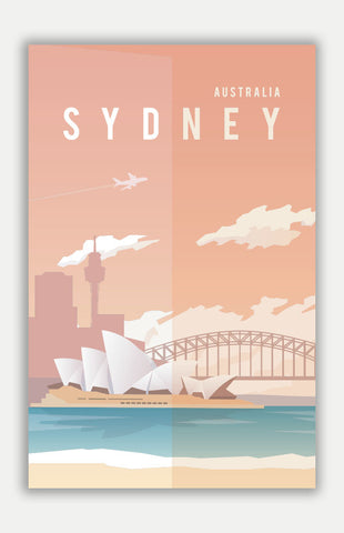 "Sydney Travel Poster - 11"" x 17"" Poster"