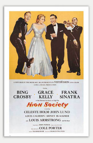 "High Society - 11"" x 17""  Movie Poster"