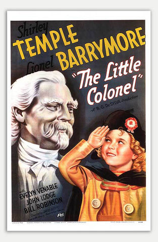 "Little Colonel - 11"" x 17""  Movie Poster"