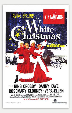 "White Christmas - 11"" x 17""  Movie Poster"