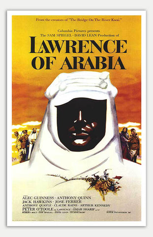 "Lawrence Of Arabia - 11"" x 17""  Movie Poster"