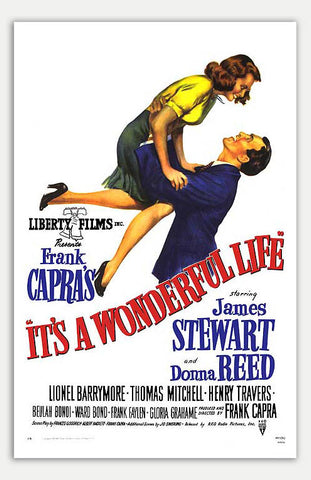 "It's A Wonderful Life - 11"" x 17""  Movie Poster"