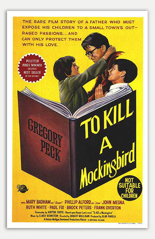 "To Kill A Mockingbird - 11"" x 17""  Movie Poster"