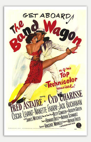 "Band Wagon - 11"" x 17""  Movie Poster"