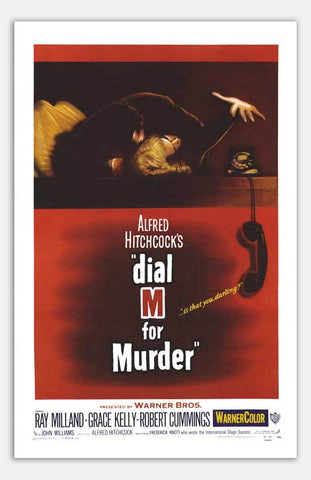 "Dial M For Murder - 11"" x 17""  Movie Poster"
