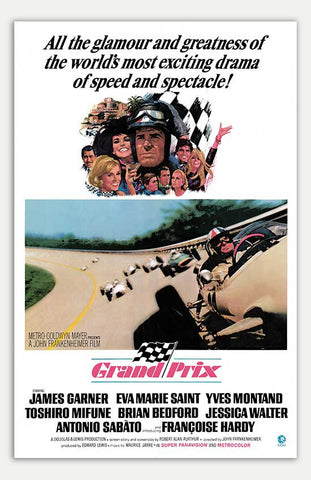 "Grand Prix - 11"" x 17""  Movie Poster"
