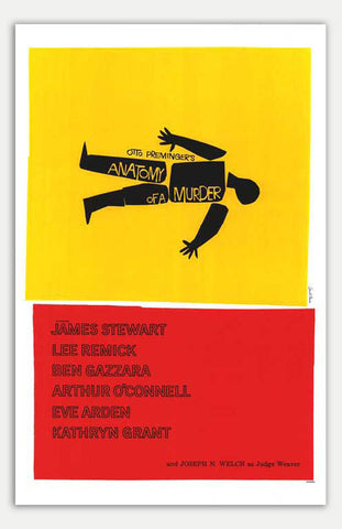 "Anatomy Of A Murder - 11"" x 17""  Movie Poster"
