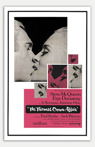 "Thomas Crown Affair - 11"" x 17""  Movie Poster"