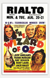 "Wizard Of Oz - 11"" x 17""  Movie Poster"