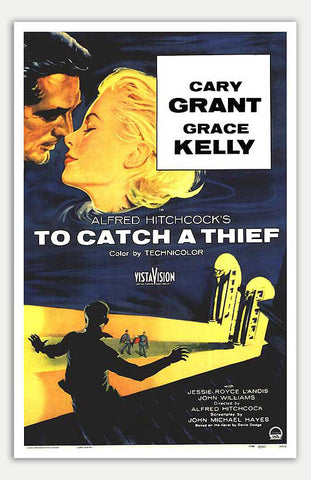 "To Catch A Thief - 11"" x 17""  Movie Poster"