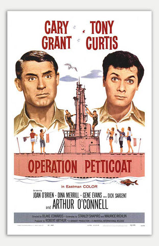"Operation Petticoat - 11"" x 17""  Movie Poster"