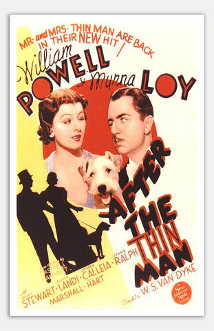 "After The Thin Man - 11"" x 17""  Movie Poster"