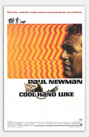 "Cool Hand Luke - 11"" x 17""  Movie Poster"