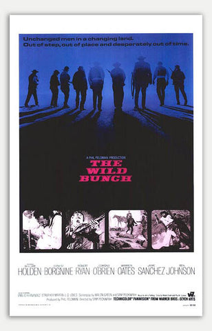 "Wild Bunch - 11"" x 17""  Movie Poster"