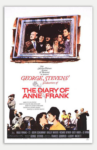 "Diary Of Anne Frank - 11"" x 17""  Movie Poster"
