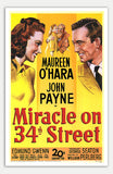 "Miracle On 34th Street - 11"" x 17""  Movie Poster"