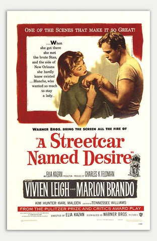 "Streetcar Named Desire - 11"" x 17""  Movie Poster"