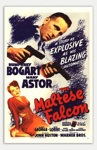 "Maltese Falcon - 11"" x 17""  Movie Poster"